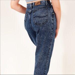 """Vintage Lee Super High Rise """"MOM"""" Jeans"""